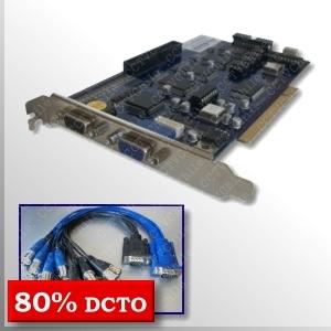 Tarjeta GV-800 v8.4 - 16Ch/4A - 120fps - 720x480 - 2002