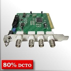 Tarjeta SDVR404 / PICO2000 - 4Ch - 30fps - 2400