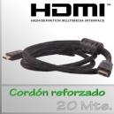 Cable HDMI - 20 Mts. - Cordón reforzado