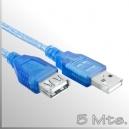 Extensión cable USB 2.0 - 5 Mts.