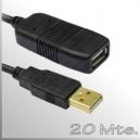 Extensión cable USB - 20 Mts. - Activo