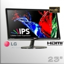 "Monitor 23"" IPS Slim FullHD LG Led Wide Screen"