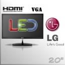 """Monitor 20"""" Slim LG Led Wide Screen"""