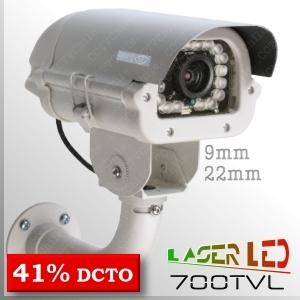 3517C - BoxCam IR Profesional - 1/3 SONY EXview HAD CCD II - 700T (960H)