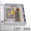 BOX - Fuente de Poder 12V - 20A