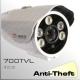 3000 - BoxCam IR Profesional 'Anti-Theft' 2ED - 1/3 SONY HAD CCD 700TVL