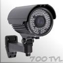 "3585 - Cámara Profesional con IR - CCD 1/3"" SONY SUPER HAD II - 700TVL"