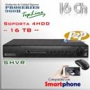 SHVR 16Ch - 480 Fps ProSeries 960H - 16TB Soportado