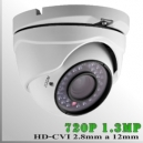 CVI-3661-1.3MP - DomeCam IR Profesional Sensor SONY 720p 1.3Mp HD-CVI