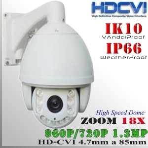 CVI-9201-1.3MP - PTZCam IR Profesional Sensor SONY 960p 1.3Mp HD-CVI