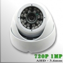 AHD-3650-1MP - DomeCam IR Profesional Sensor SONY 720p 1Mp HD-AHD