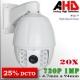 AHD-9202-1MP - PTZCam IR Profesional Sensor SONY 960p 1Mp HD-AHD