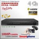 8204| HD-CVR 4Ch | 1080p@30fps | 8TB MAX | ProSeries HD | HIBRIDO