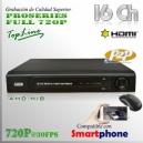 8016T | HD-AHD 4Ch | 720p@30fps | ProSeries HD | TRI-HIBRIDO
