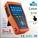 "CCTV Tester PRO HIBRIDO 4.3"" WIFI + Touch LCD - Multifuncional"