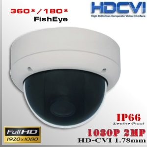 CVI-3680-2MP DomeCam 360º Profesional Sensor SONY 1080p 2Mp HD-CVI