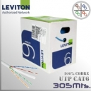 Cable UTP CAT6 Leviton - 305 Mts.