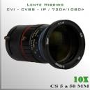 Lente Zoom TRI-HIBRIDO de 10x - 3Mpx