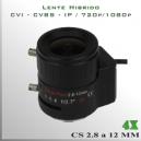 Lente Zoom TRI-HIBRIDO de 4x - 3Mp