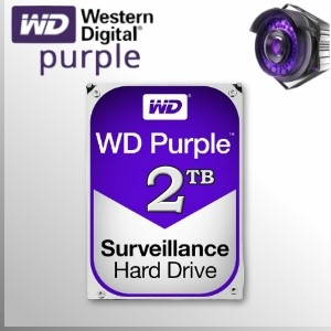 WD Purple™ 2TB Disco Duro Sata3 5400 rpm 64MB 6GB/s