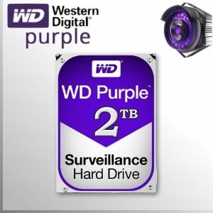 WD Purple™ 2TB Disco Duro Sata3 5400 rpm 64MB 6GB/s