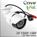 IP1M-3545-1MP - BoxCam IR Profesional Sensor SONY 720p 1Mp HD - POE