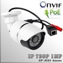 IP1M-3545-1MP - BoxCam IR Profesional Sensor SONY 720p 1Mp HD - POE