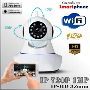 IP1M-6001-1MP - RobotCam WIFI IR Profesional Sensor SONY 720p HD -PT