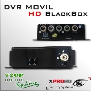 MDVR HD 4CH DVR MOVIL HIBRIDO 720p - BlackBox