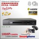 7808T-PL | HD-NVR 8Ch | 1080p@30fps | 4TB MAX | FULL HD | StandAlone