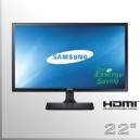 "Monitor 22"" Slim SAMSUNG Led Wide Screen HDMI FullHD"