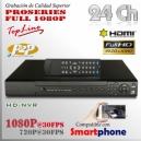 8024D-P | HD-NVR 24Ch | 1080p@30fps | 8TB MAX | FULL HD | StandAlone
