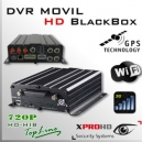 MDVR HD (GPS + WIFI + 3G) DVR MOVIL HIBRIDO 4CH 720p - BlackBox