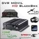 MDVR HD (GPS + WIFI + 3G) DVR MOVIL HIBRIDO 4CH 720p - BlackBox