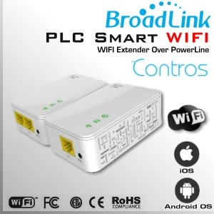 PLC SMART WIFI | Extensor WIFI by BroadLink