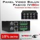 8Ch Panel Balun Pasivo (V) HD-CVI / AHD / Análogo tradicional/ HD-TVI