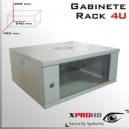 RACK 4U GABINETE 540x 450x 225(mm) Llave y Extractor