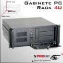 RACK PC 4U | GABINETE 440x 460x 170(mm) | LLAVE Y EXTRACTOR