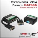 Extensor VGA BALUN PASIVO | Emisor y receptor