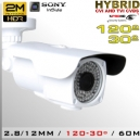 3507-2MPS323 BoxCam Varifocal IR Profesional Sensor SONY 1080p 2Mp HIBRIDA