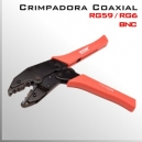 Crimpadora RG59 RG6 | Conector BNC | Para cable coaxial