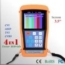 "CCTV Tester PRO HIBRIDO 3.5"" LCD - Multifuncional"