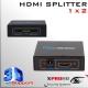 HDMI Splitter 1 a 2 bocas 1080p 3D