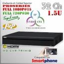 5432L-S2 | HD-CVR 32Ch 1.5U | 1080p@15fps | ProSeries HD | TRIHIBRIDO