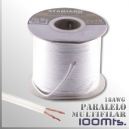 CABLE PARALELO MULTIFILAR ( 2x18 AWG ) - 100 MTS.