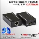 Extensor HDMI Activo ( Tx & Rx ) vía cable UTP