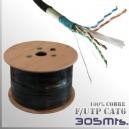 Cable F/UTP CAT6 - UTP 100%CU - 305 Mts. - TrimerX FUTP