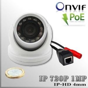 IP1M-3650-1MP - Mini DomeCam IR Profesional Sensor SONY 720p 1Mp HD