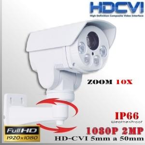 CVI-3520-PTZ-10x - PTZ HD Sensor SONY FULLHD 2MP - Mini PTZ Bullet