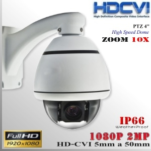 CVI-9052-2MP - PTZ FHD 10X Sensor SONY FULLHD 2MP